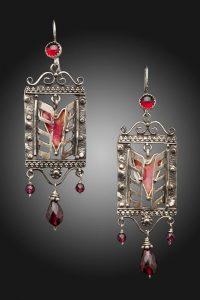 Love Window Earrings