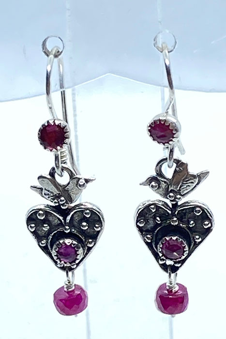 Sterling Silver, Ruby