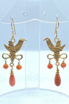 Gold Plate, Victorian Coral