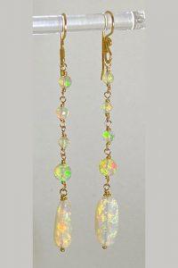 Ethiopian Opals, 14k. Gold
