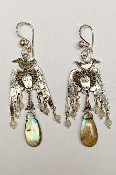 Musi Jewelry angel earrings